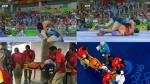 Río 2016: la terrible lesión en la rodilla de luchadora india Vinesh Phogat - Noticias de julissa diez canseco