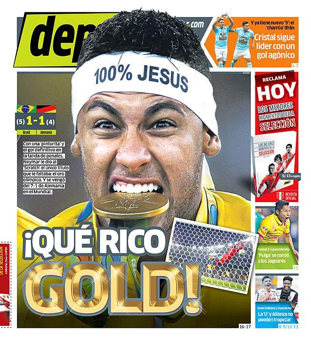¡Qué rico gold!