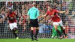 Ibrahimovic marcó de cabeza y penal y sigue en racha con Manchester United - Noticias de anthony taylor