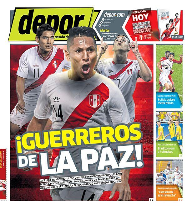 ¡Guerreros de La Paz!
