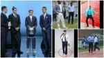 Como Griezmann: los 'looks' que utilizaron los personajes del fútbol peruano - Noticias de luis solar