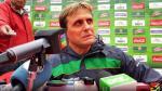 Selección Peruana: técnico de Bolivia Ángel Hoyos elogió a la bicolor - Noticias de julio baldivieso