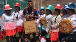 Selección Peruana: César Ortíz fue aclamado por los niños de Oropesa - Noticias de real garcilaso