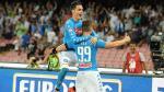 Napoli ganó 4-2 al AC Milan en el debut de Lapadula por la Serie A - Noticias de peru vs. chile