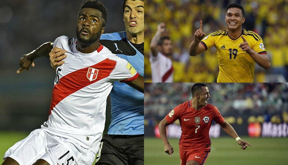 Mira en esta galería a los futbolistas más importante de cada país amonestados de cada país de cara a la próxima fecha doble