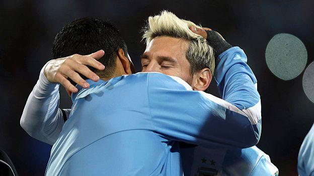 De la mano de Messi, Argentina venció a Uruguay