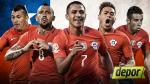 """Chile, la selección que """"debe reafirmar su condición de bicampeón de América"""" - Noticias de ramon fernandez"""