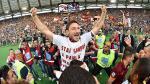 Francesco Totti mostró su amor por AS Roma en emotiva carta - Noticias de lazio roma