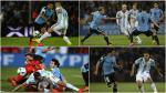 Las mejores imágenes del clásico de Río de la Plata entre Argentina y Uruguay - Noticias de gabriel mendoza