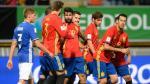 España goleó 8-0 de local a Liechtenstein por las Eliminatorias Rusia 2018 - Noticias de italia vs liechtenstein