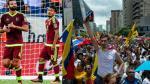 La crisis social en la mira de todos como previa del Venezuela vs. Argentina - Noticias de lionel davis