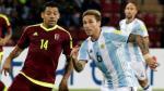 Venezuela y Argentina empataron 2-2 por Eliminatorias Rusia 2018 - Noticias de maria victoria hernandez