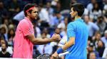 Novak Djokovic avanzó a semifinales del US Open por lesión de Tsonga - Noticias de gael monfils