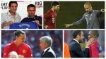 Los 10 jugadores que han sido dirigidos por Mourinho y Guardiola - Noticias de benfica vs manchester united