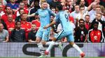 Manchester City derrotó 2-1 al United en partidazo por Premier League - Noticias de luke shaw