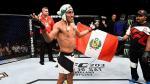 UFC: Enrique Barzola fue multado por llevar su chullo y la bandera de Perú - Noticias de kyle bochniak