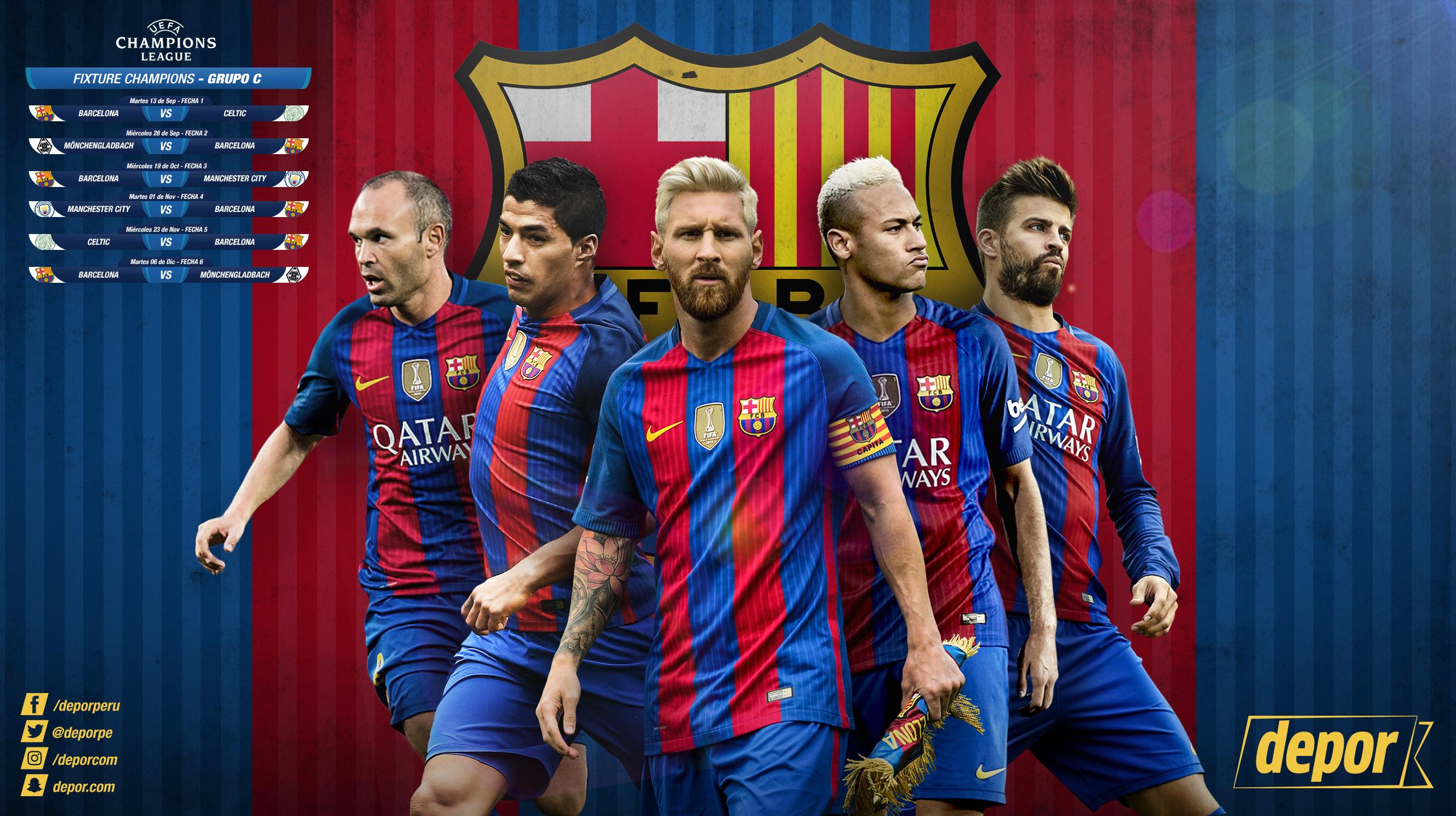 Champions League Hoy Podrás Descargar Gratis El Wallpaper
