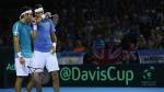 Argentina vs. ante Gran Bretaña: sigue el último juego de la Copa Davis - Noticias de andy murray