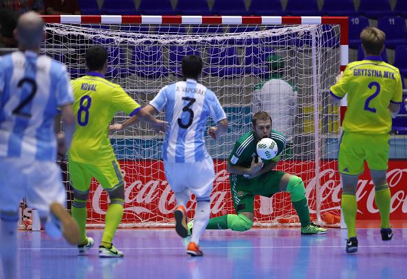 Argentina goleó a Egipto en el Mundial de Futsal