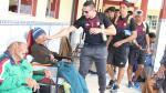 Ayacucho FC visitó asilo de ancianos previo a su partido con Sport Huancayo - Noticias de mario villasanti