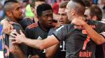 Bayern Munich ganó de manera agónica 1-0 en su visita al Hamburgo - Noticias de supercopa de alemania
