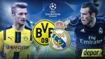Real Madrid vs. Borussia Dortmund: se enfrentan por Grupo F Champions League - Noticias de fútbol peruano