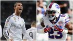 Cristiano Ronaldo: jugador de la NFL le rindió homenaje tras anotar un touch down - Noticias de cr7