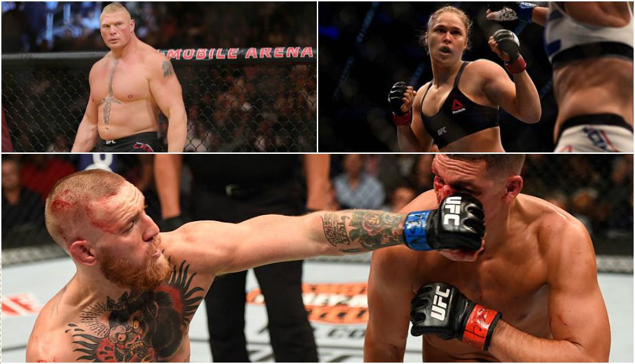 Conoce a los cinco peleadores que más ingresos lograron por ventas de PPV. (Getty Images)