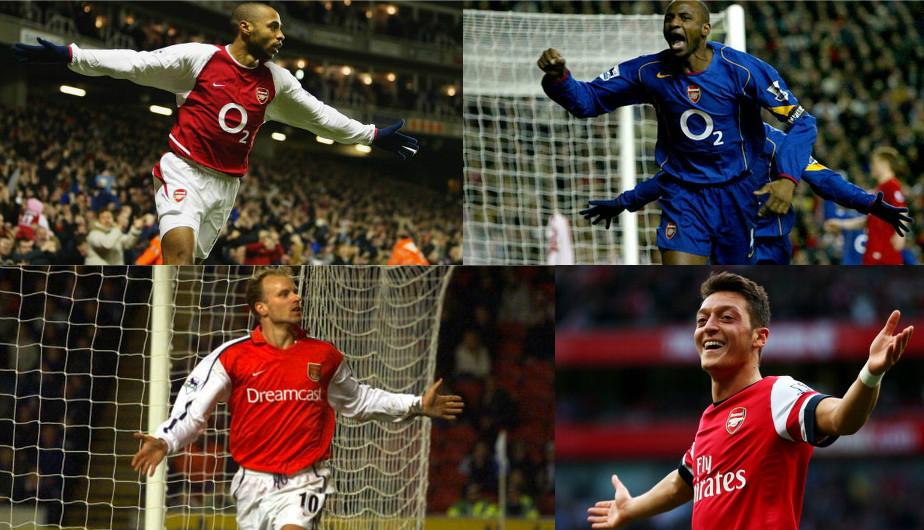 El once ideal en la historia del Arsenal de acuerdo a Santi Carzorla. (Getty Images)