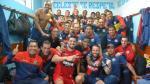 Deportivo Municipal festejó el triunfo en el vestuario de Sporting Cristal - Noticias de marcelo gallardo