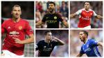 FIFA 17: los 20 jugadores con mejor valoración en la Premier League [FOTOS] - Noticias de zlatan ibrahimovic