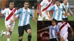 Selección Peruana: ¿cómo le fue al ataque de Argentina ante la bicolor? - Noticias de sergio kun aguero