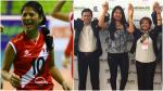 Ex 'matadorcita' fue elegida como presidenta de la federación peruana de vóley - Noticias de ronald diaz