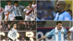Perú frente a Argentina: cracks albicelestes que vinieron por Eliminatorias - Noticias de javier zanetti