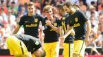 Atlético de Madrid derrotó 2-0 a Valencia por fecha 7 de la Liga Santander - Noticias de kevin santander