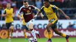 Arsenal venció 1-0 al Burnley en Turf Moor por fecha 7 de la Premier League - Noticias de david sanchez