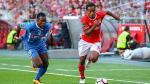 André Carrillo jugó con Benfica: mira sus mejores acciones ante Feirense - Noticias de steven gerrard