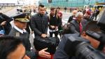 La llegada de las figuras de la Selección de Argentina a Lima (FOTOS) - Noticias de nicolas gaitan