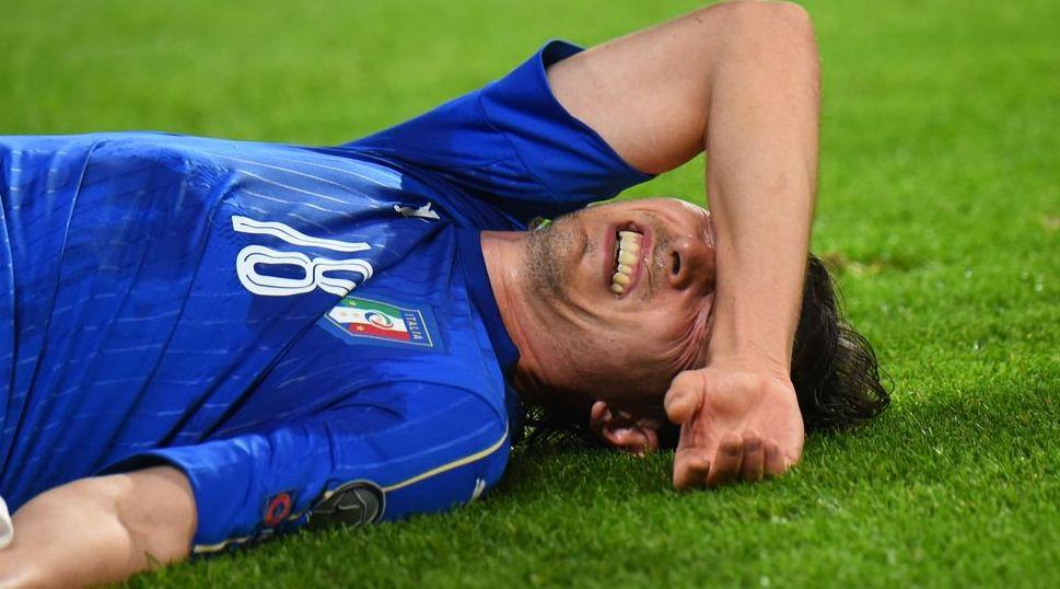 Dolor de cabeza para el Barca: Jordi Alba se lesionó ante Italia