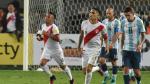 Perú igualó 2-2 con Argentina por las Eliminatorias Rusia 2018 - Noticias de sporting cristal vs. atlético de madrid