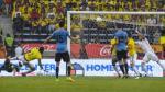 Colombia ante Uruguay: Rodríguez venció a Ospina y anotó gol del empate - Noticias de abel aguilar