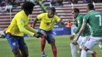 Enner Valencia salvó a Ecuador: 'Tricolor' igualó 2-2 con Bolivia en La Paz - Noticias de luis ramirez
