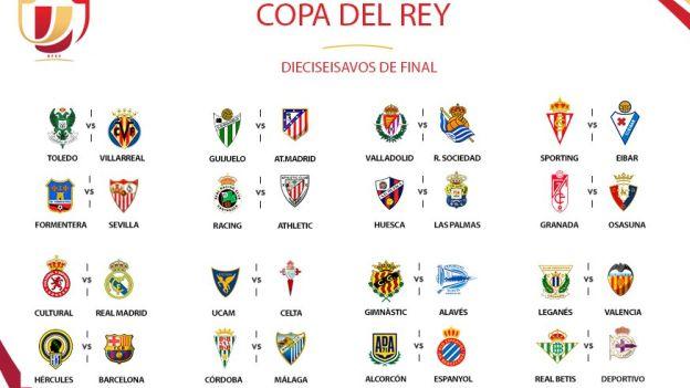 Copa del Rey 2016-2017  Barcelona y Real Madrid ante equipos de Tercera b4946c9c5426c