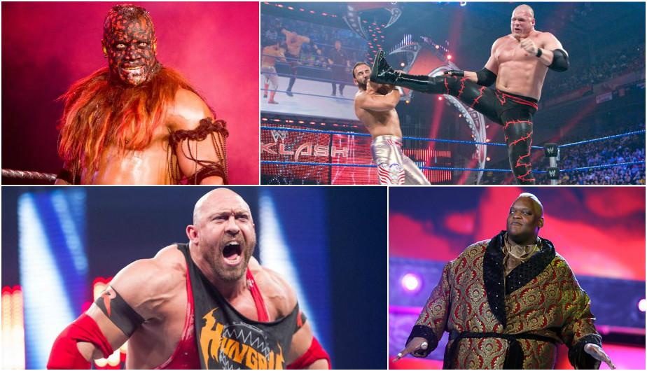 Las estrellas más intimidantes en la historia de la WWE.