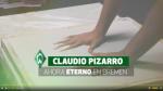 Claudio Pizarro se convertirá en un personaje histórico de la ciudad de Bremen - Noticias de claudio pizarro