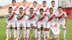 Selección Peruana Sub 20 disputará cuadrangular internacional en Arequipa - Noticias de adrian ugarriza