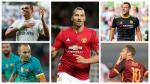 Los jugadores más 'veteranos' de los principales clubes de Europa - Noticias de francesco totti