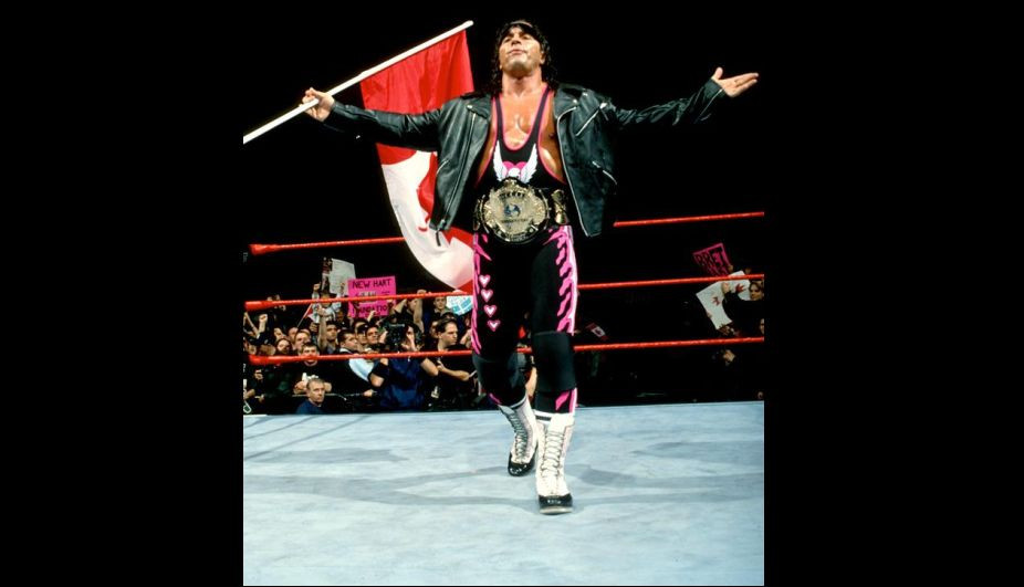 Bret Hart. (WWE)