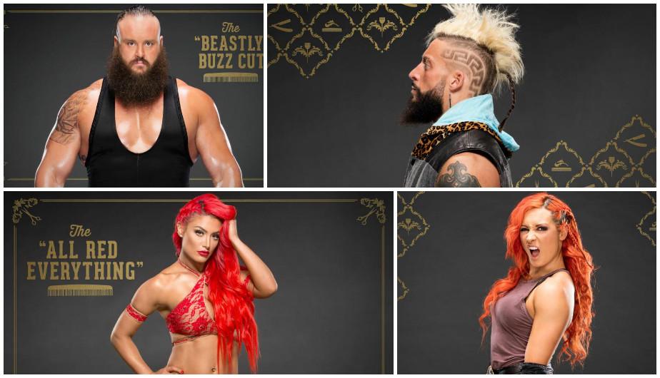 Los peinados más extravagantes de los luchadores de la WWE. (WWE)
