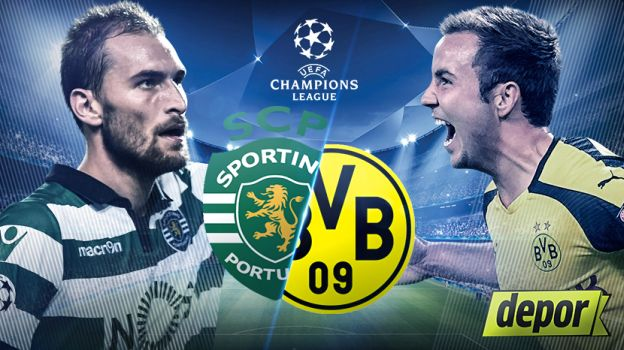 Assistir Sporting vs Borussia Dortmund - Champions League 2016